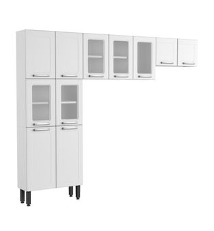 Kit Bertolini Multipla 11 Portas Branco Czm04590